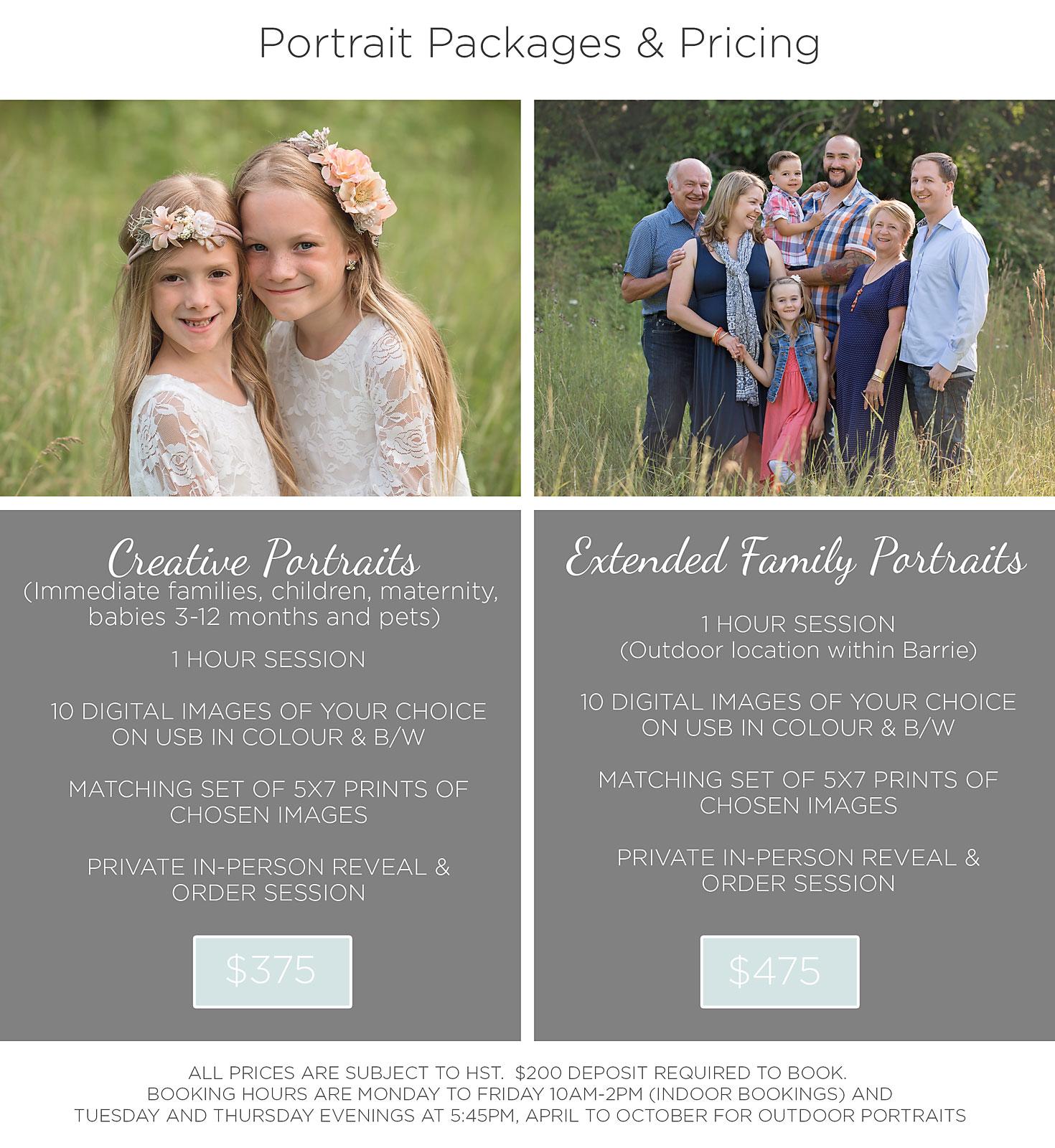 Raindance Photography | Raindance Photography | Pricing