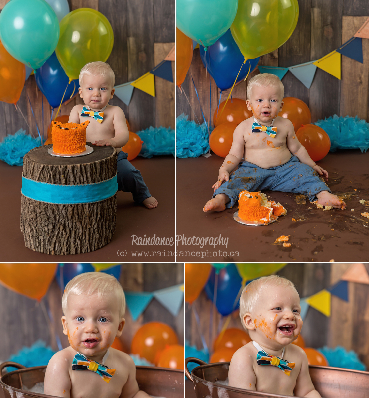 Jackson - Barrie Cake Smash Photographer 5