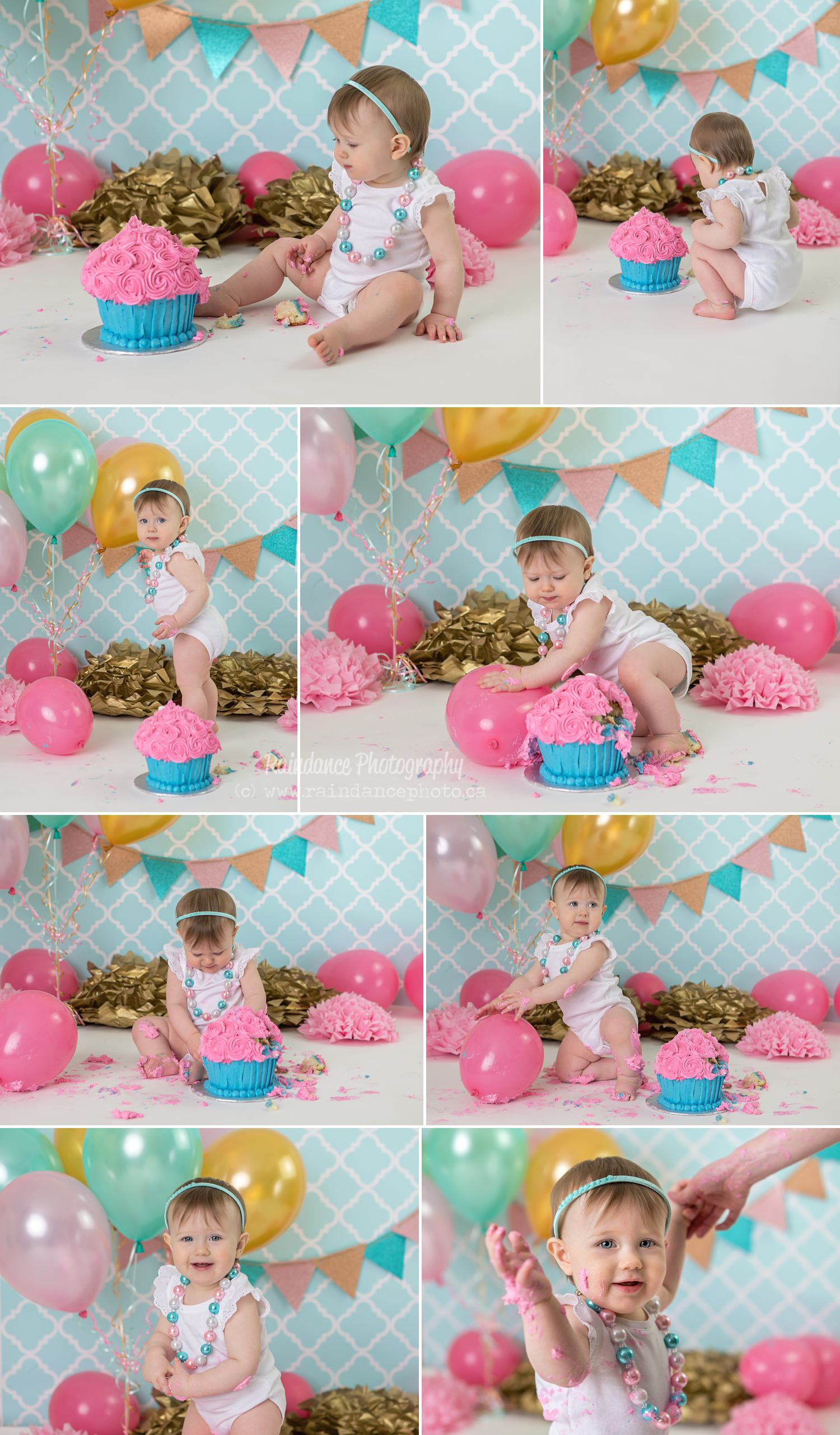 Margaret - Barrie Cake Smash Photographer 11