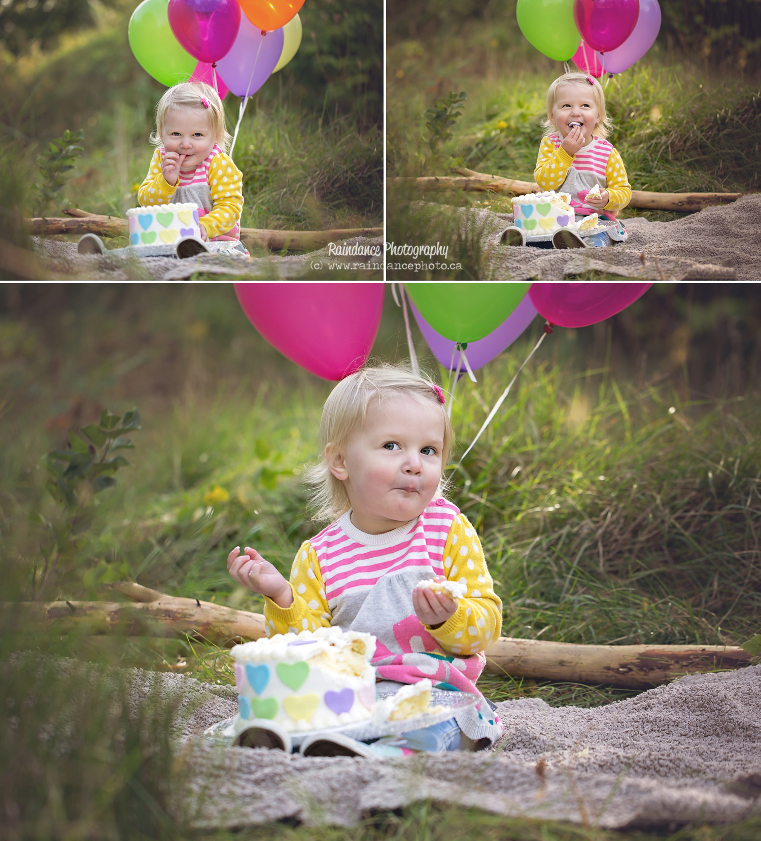 Ellie's Cake Smash Session - Barrie Child and Family Photographer 2