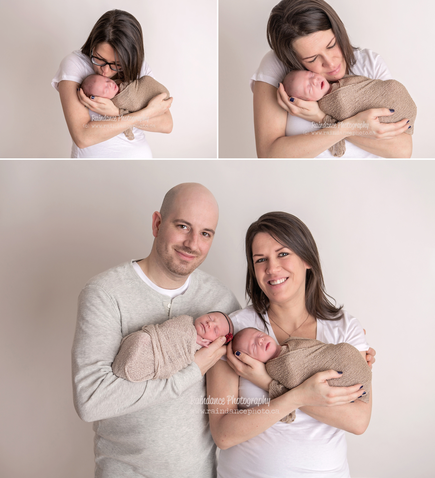Twin Newborn Session - Barrie Ontario Photographer 1