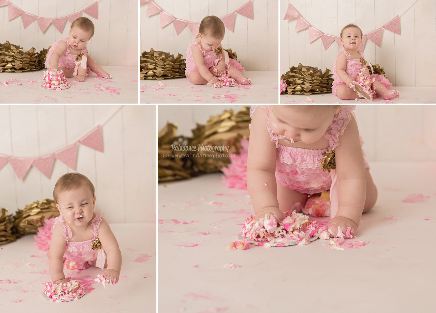 Scarlett - Barrie Cake Smash Photographer 11