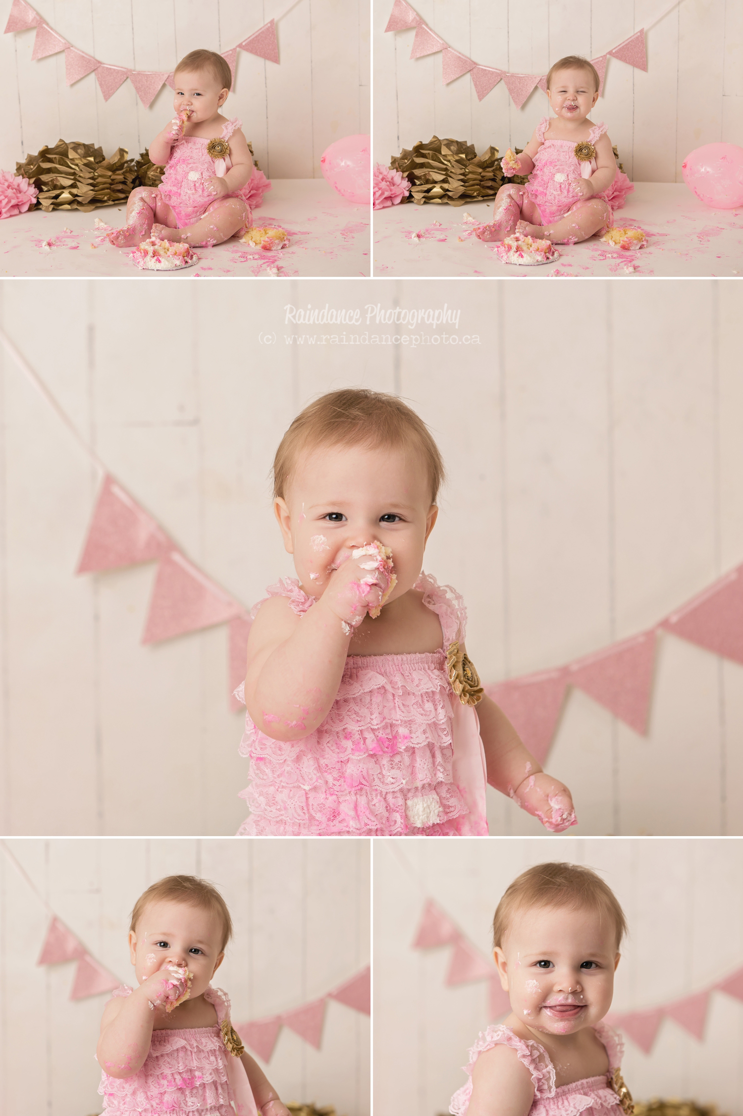 Scarlett - Barrie Cake Smash Photographer 12