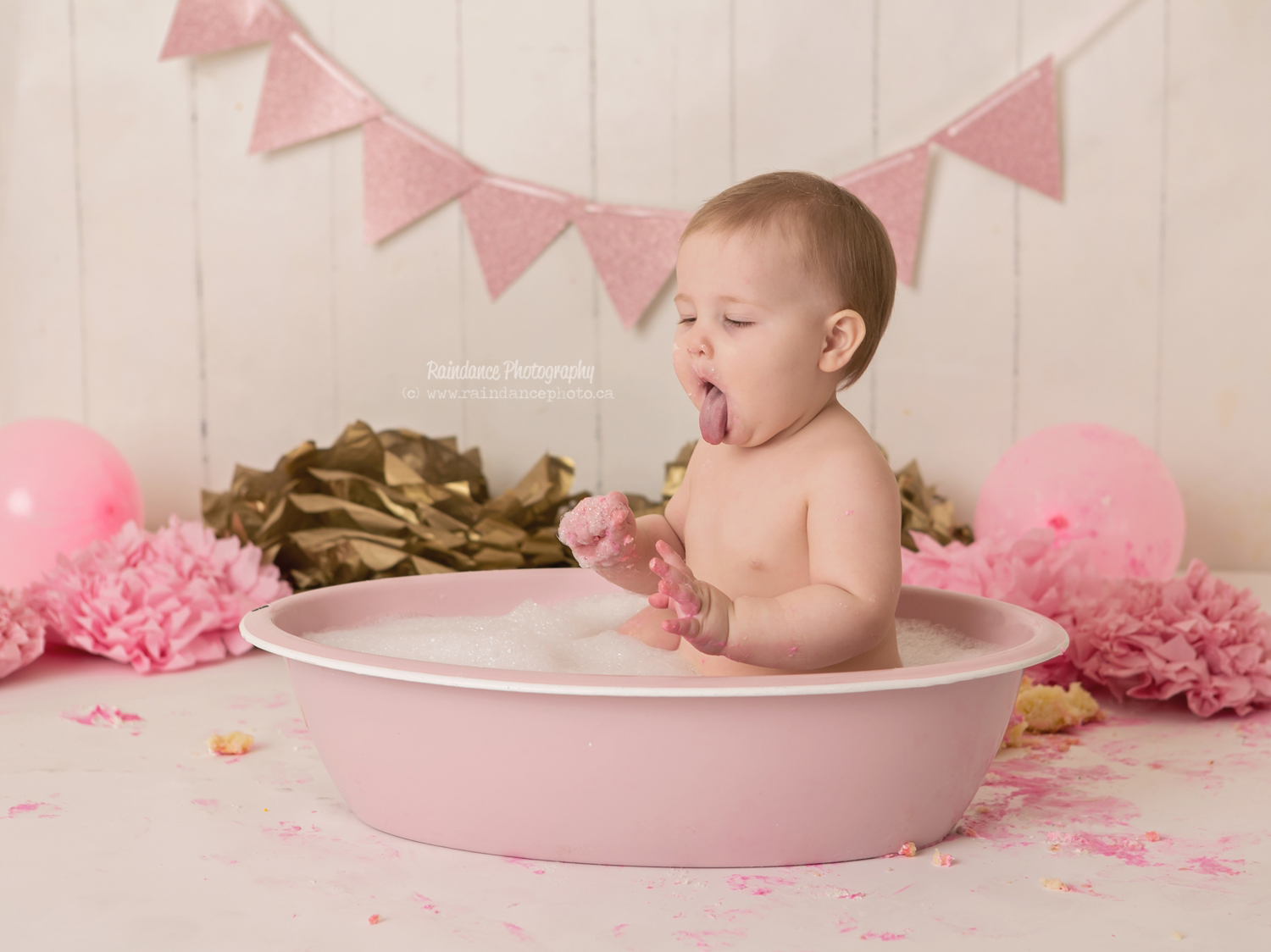 Scarlett - Barrie Cake Smash Photographer 14