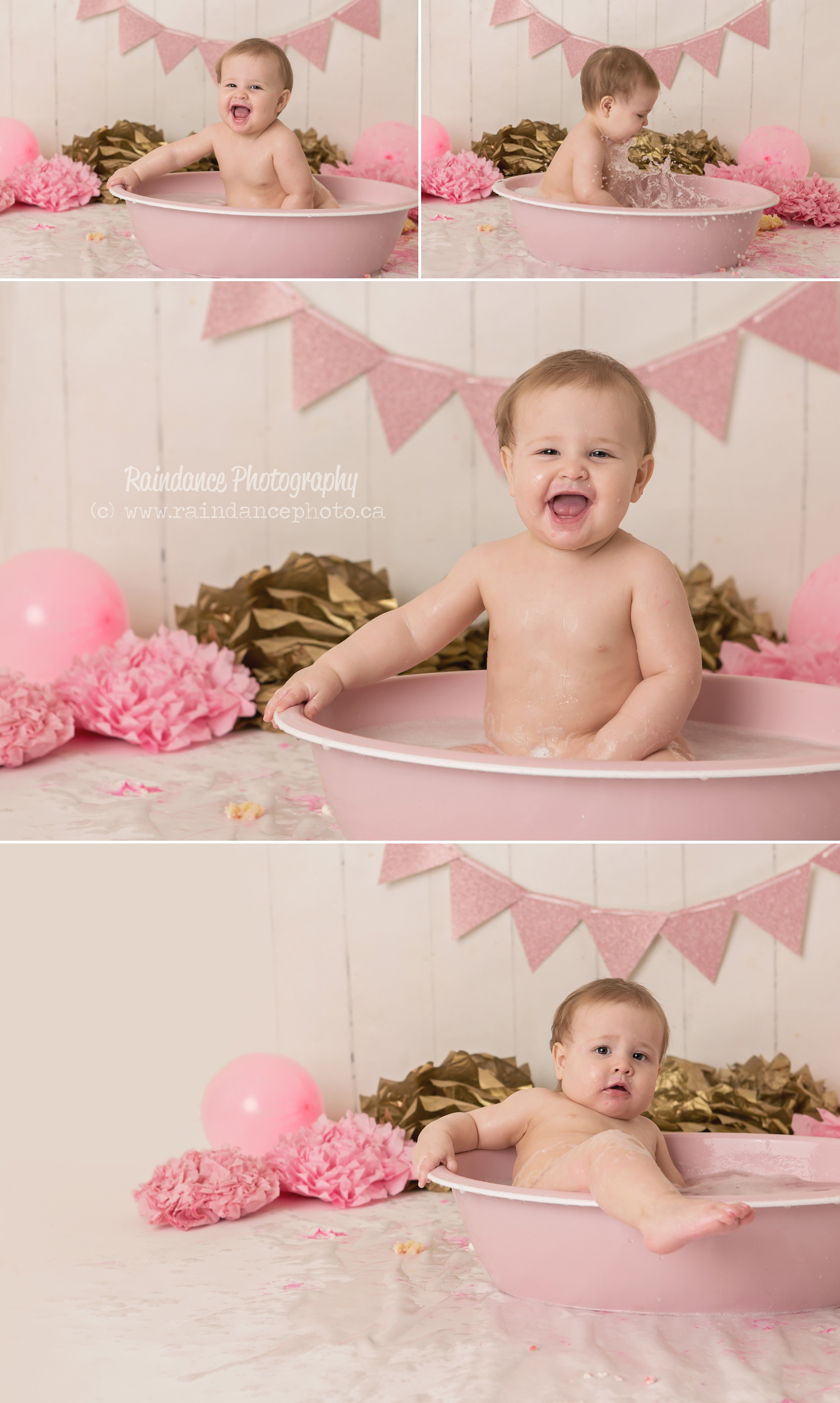 Scarlett - Barrie Cake Smash Photographer 16
