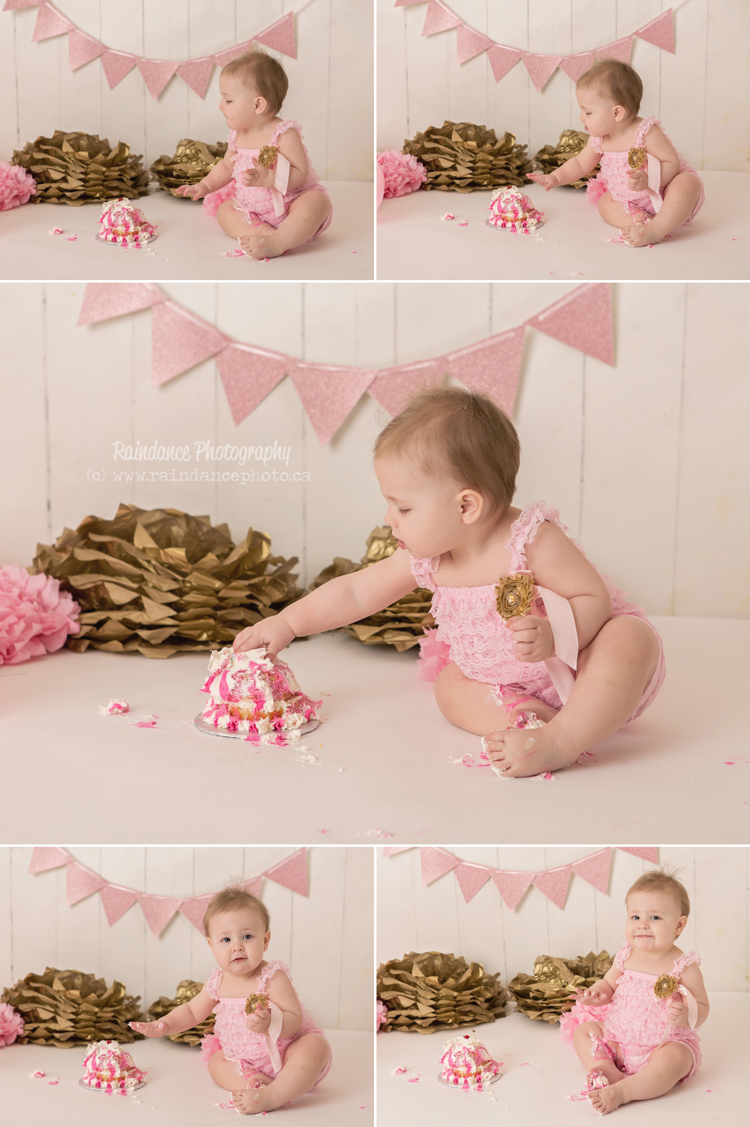 Scarlett - Barrie Cake Smash Photographer 5