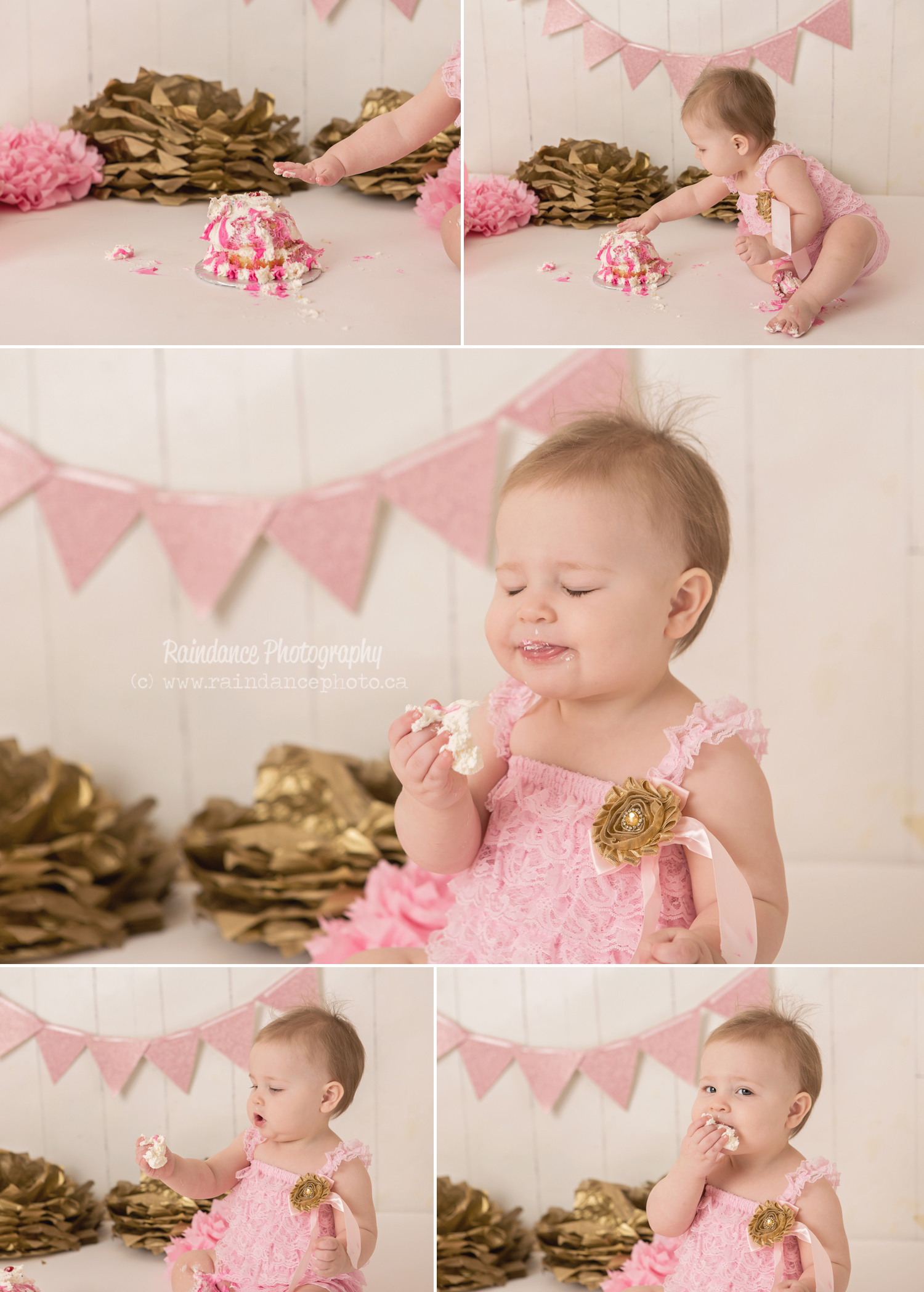 Scarlett - Barrie Cake Smash Photographer 6