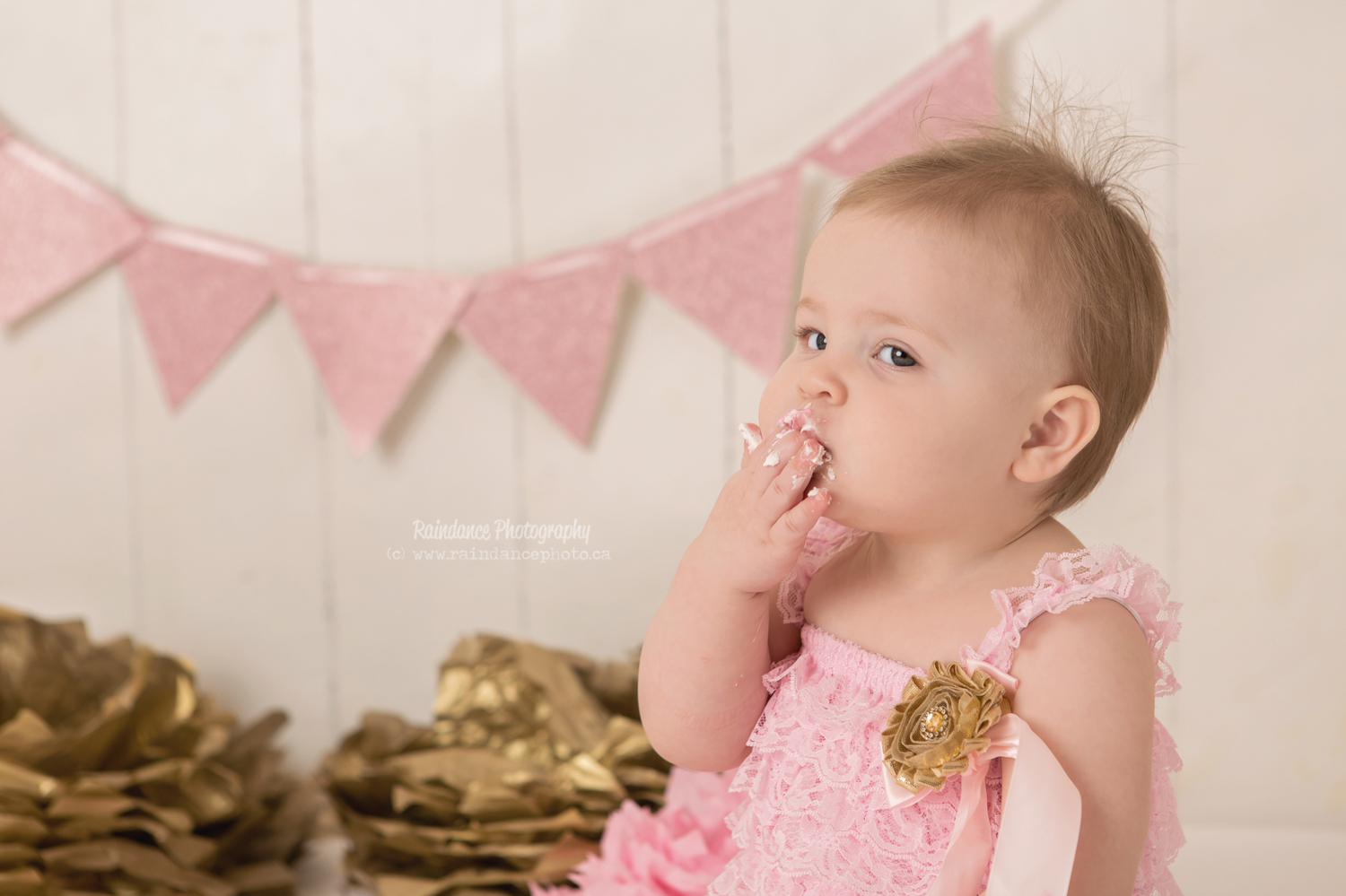 Scarlett - Barrie Cake Smash Photographer 7