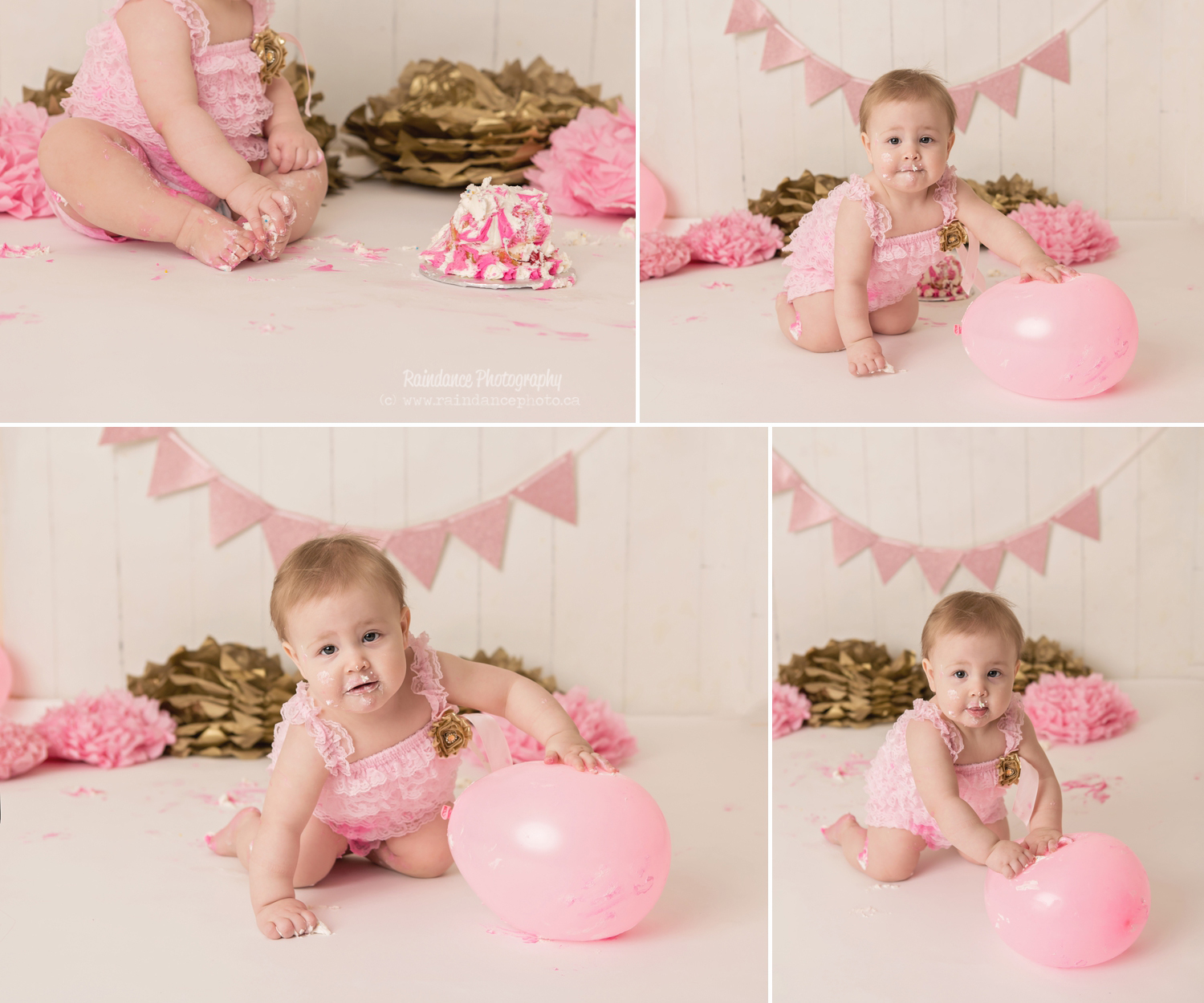 Scarlett - Barrie Cake Smash Photographer 8