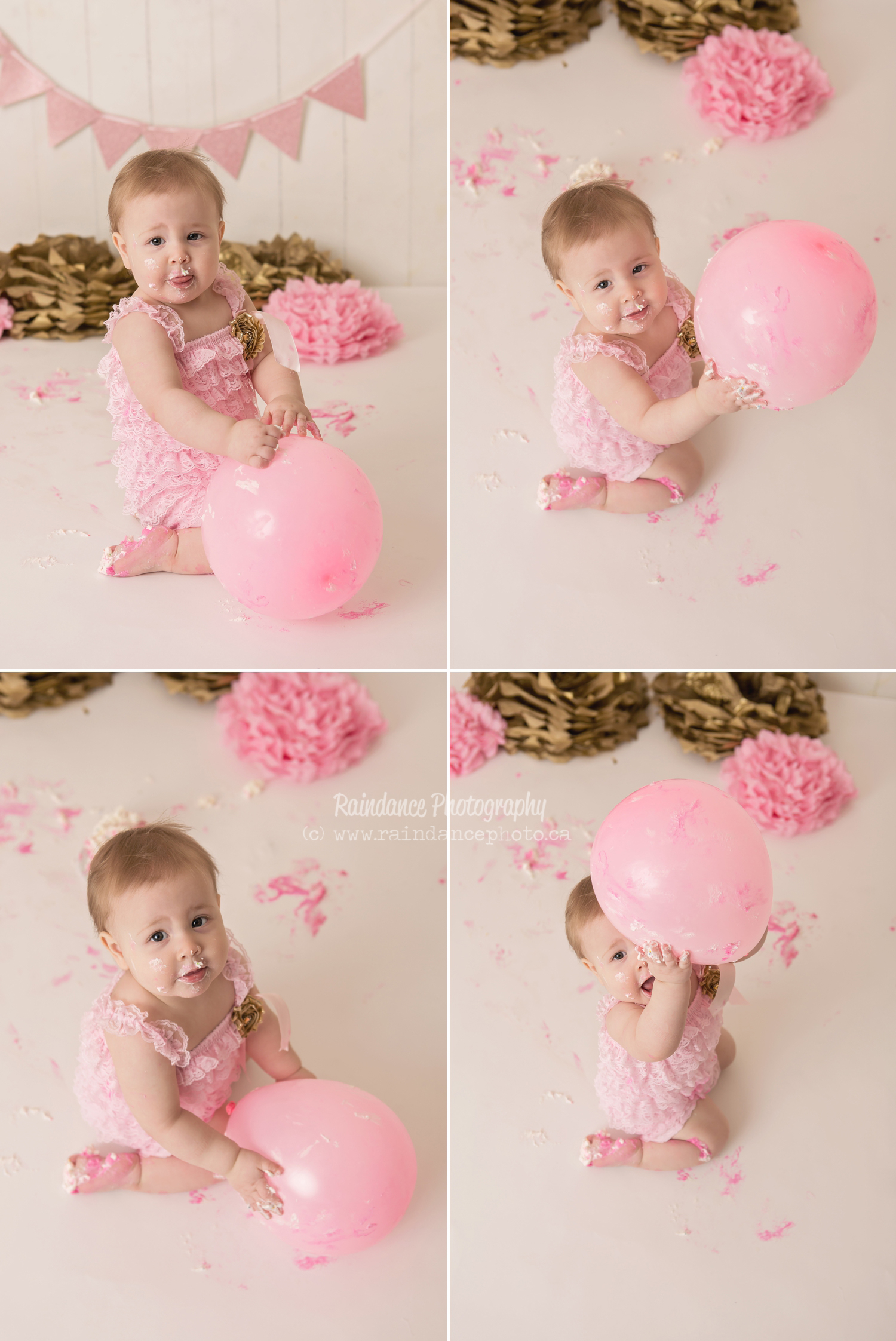 Scarlett - Barrie Cake Smash Photographer 9