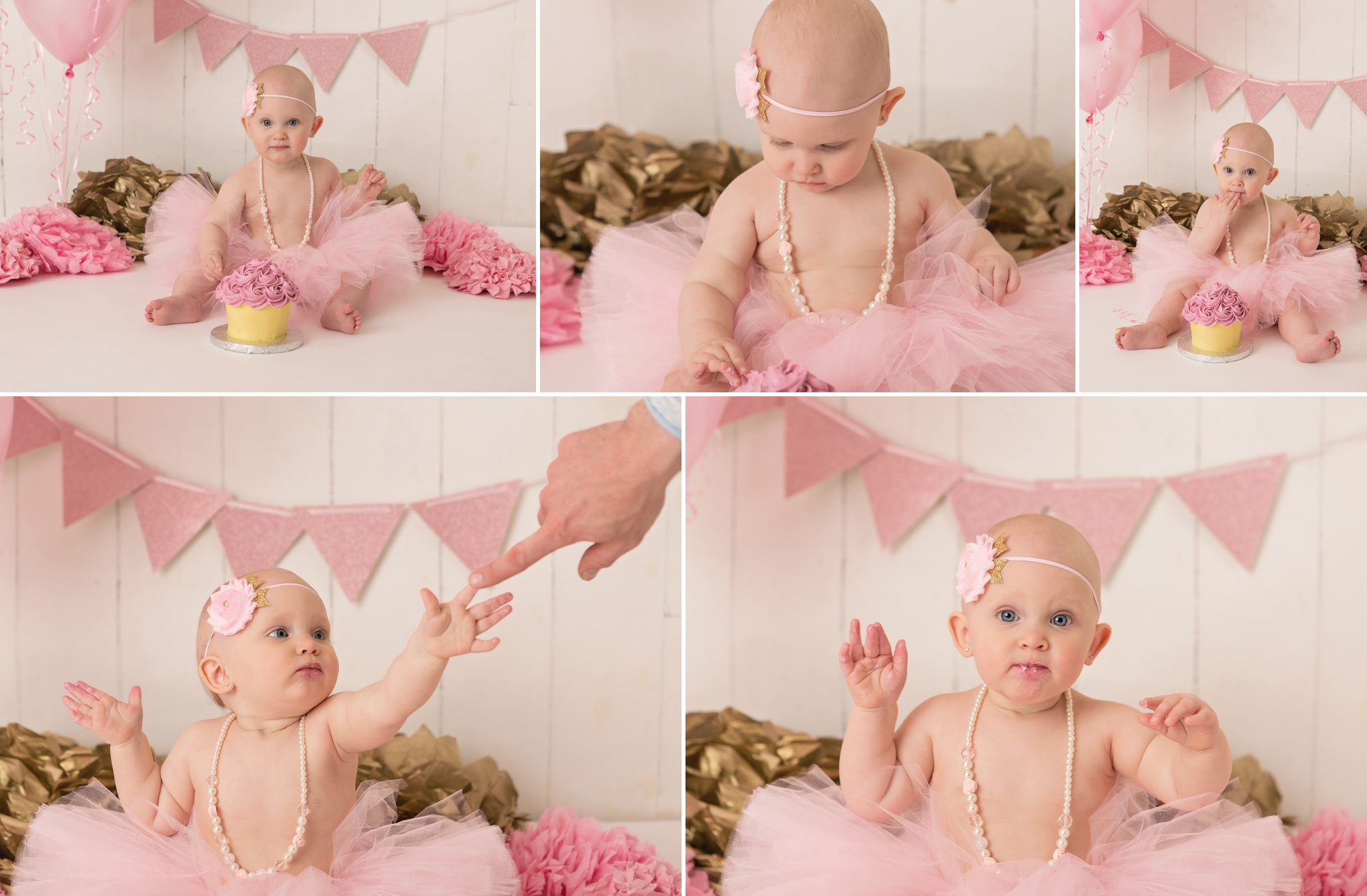 Everleigh - Barrie Cake Smash Photographer 4