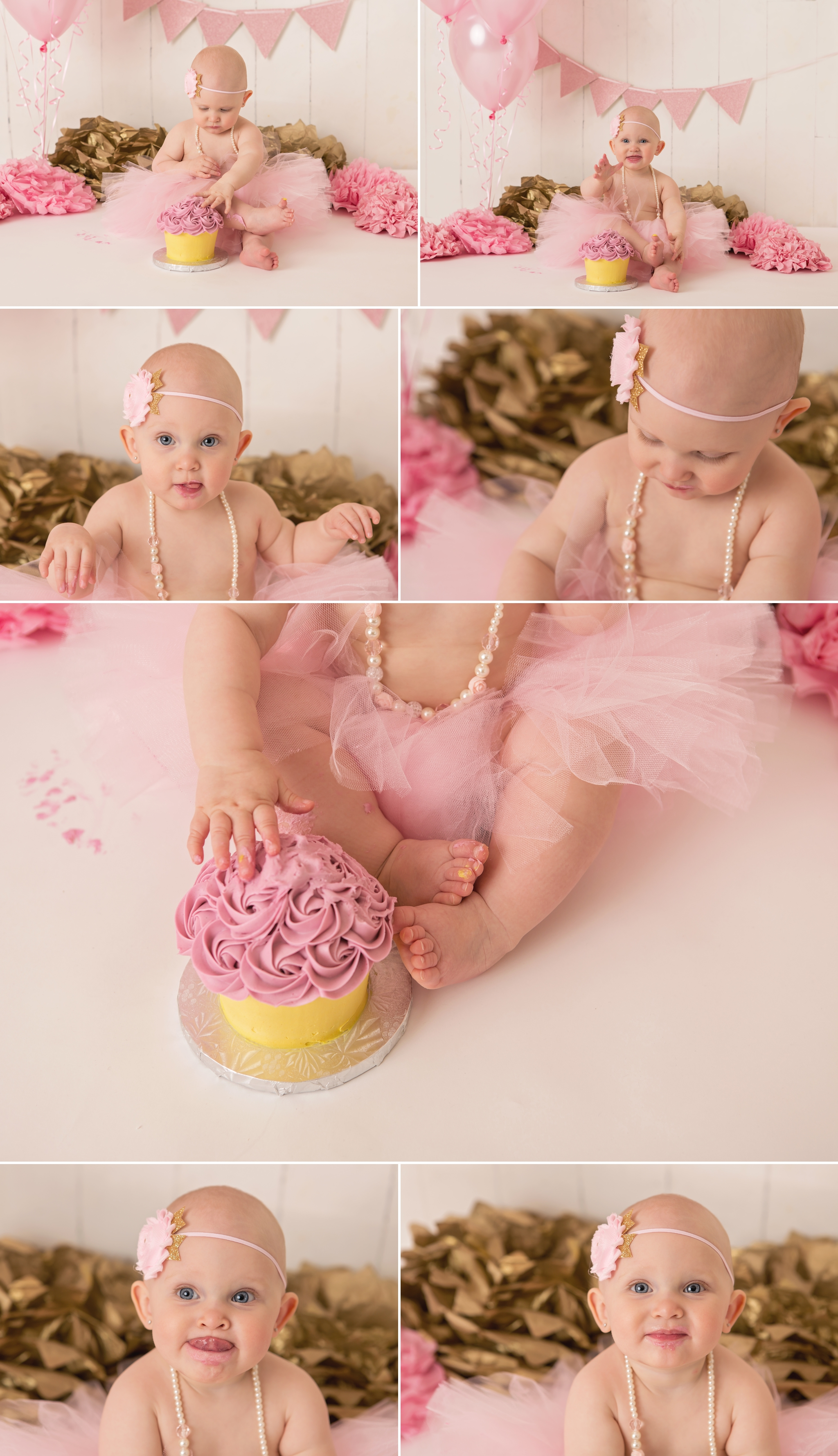 Everleigh - Barrie Cake Smash Photographer 5