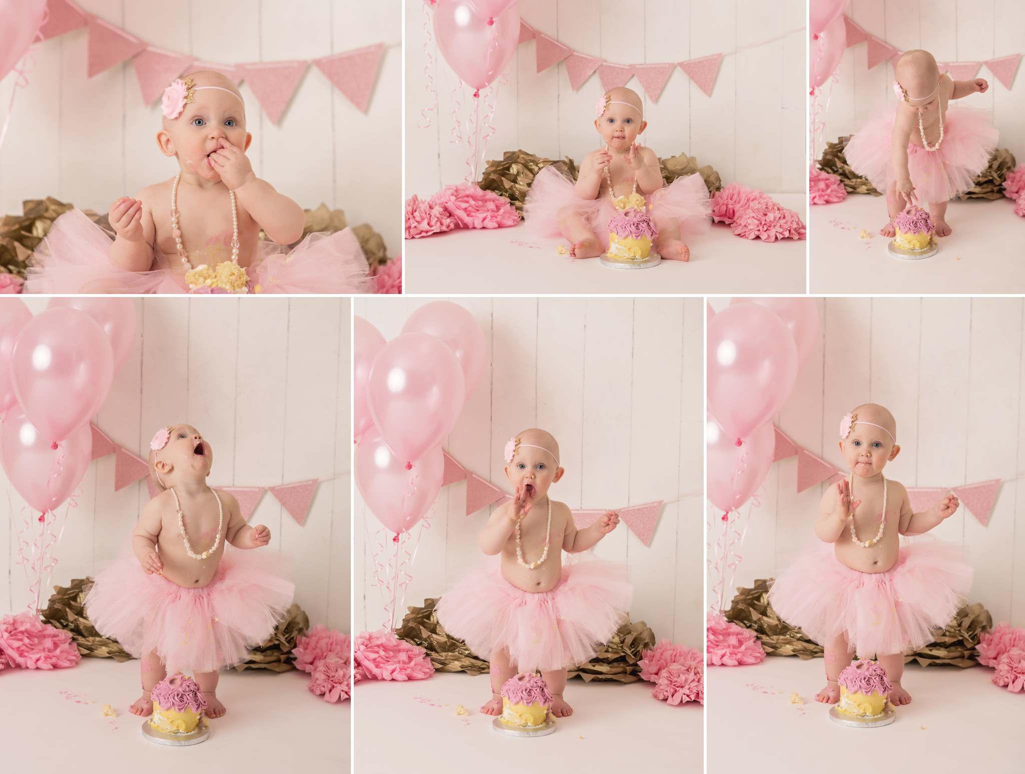 Everleigh - Barrie Cake Smash Photographer 7