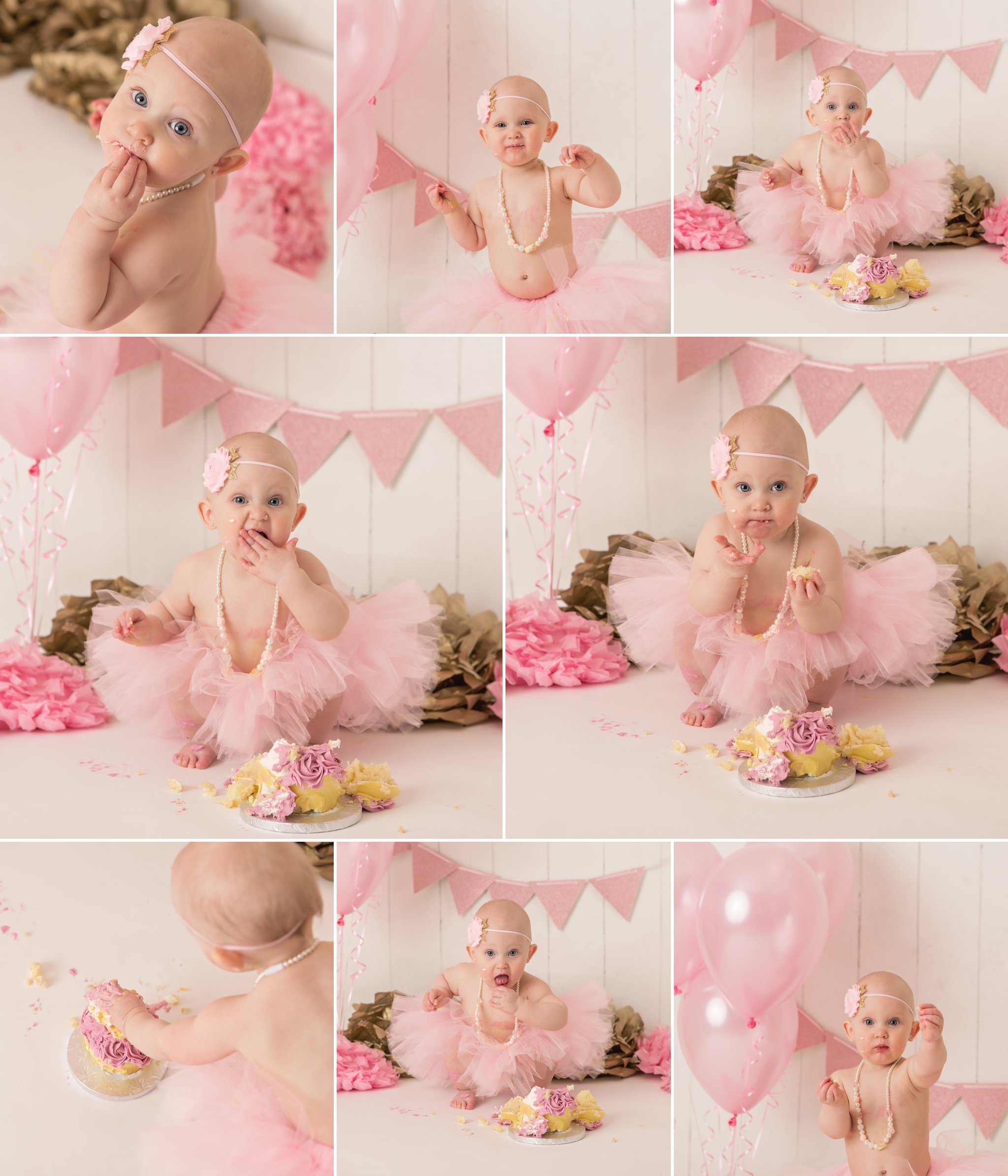 Everleigh - Barrie Cake Smash Photographer 8