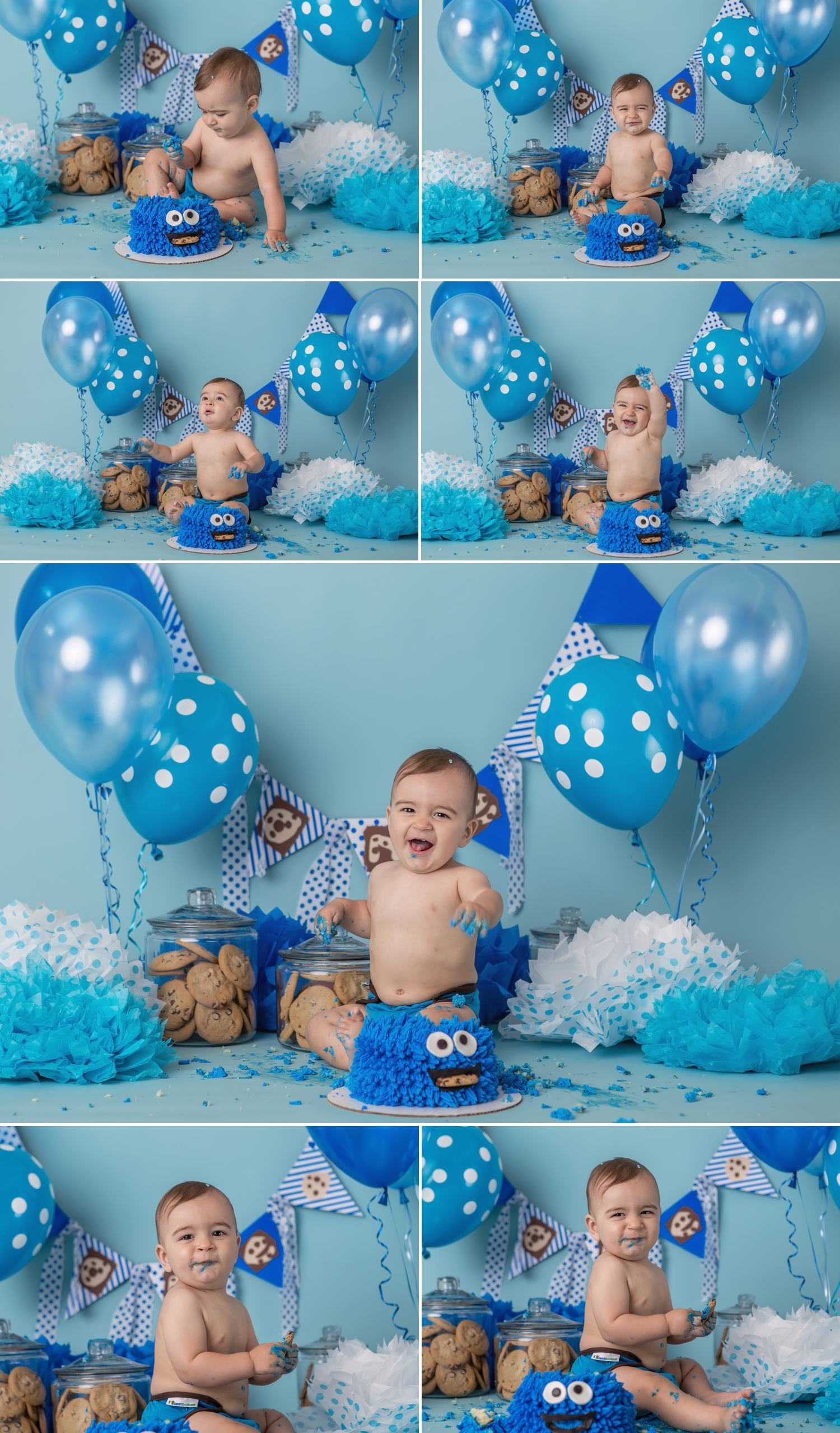 Reid - Barrie Cake Smash Photographer 7