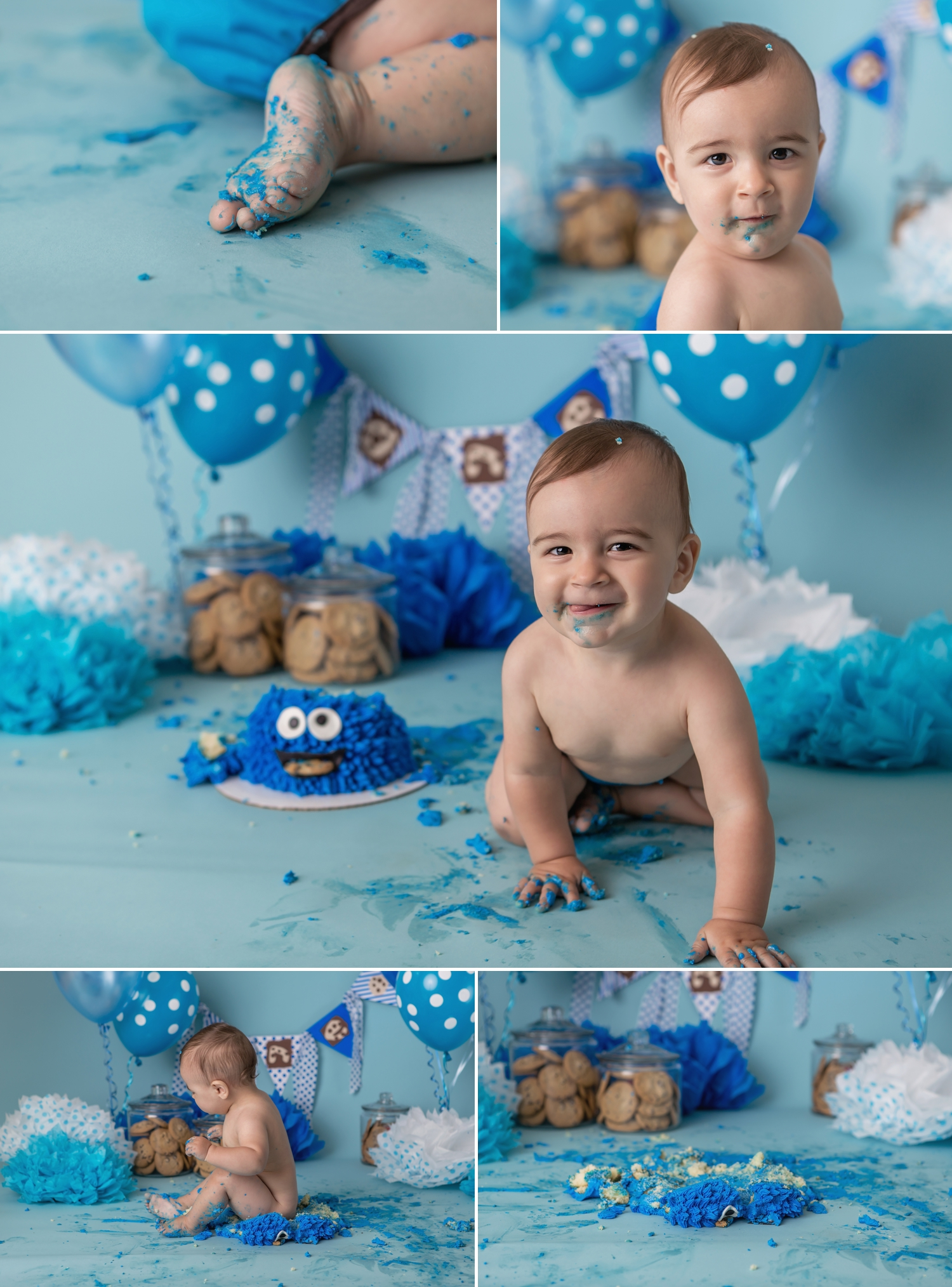 Reid - Barrie Cake Smash Photographer 8